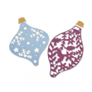 663411 - Sizzix Thinlits Die Set 3PK - Intricate Baubles  by Emily Tootle